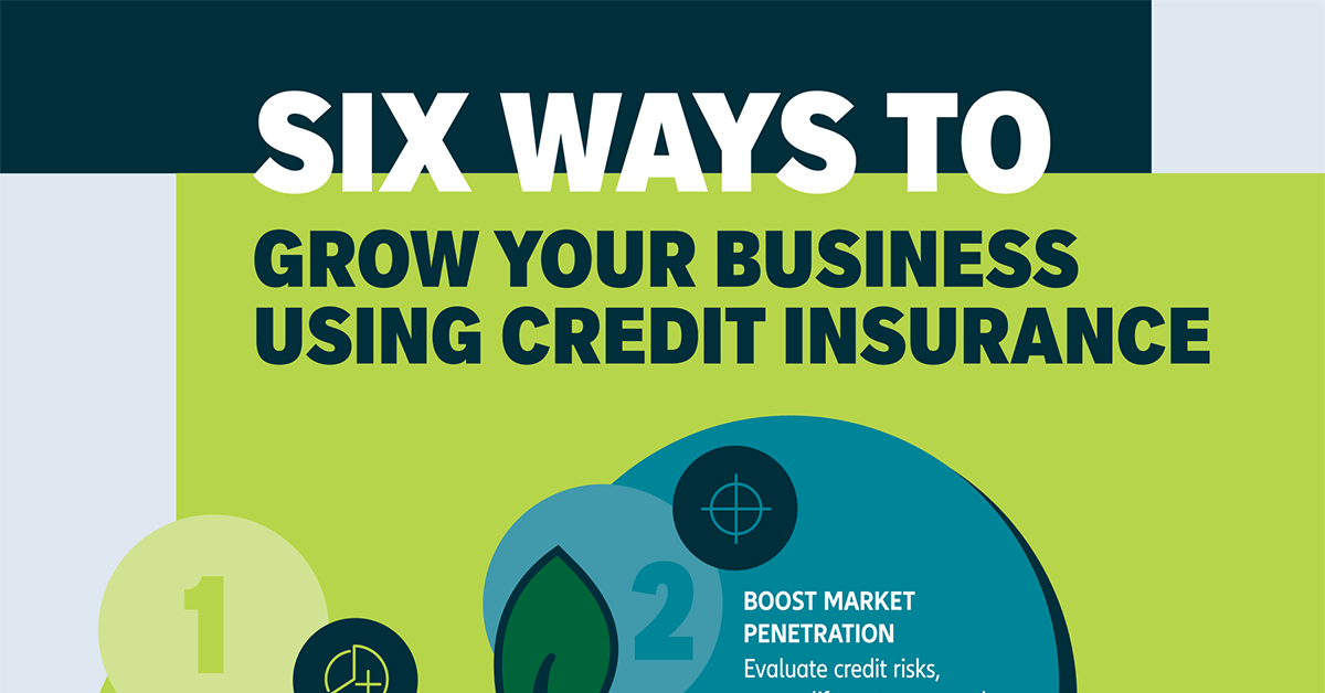 Infographic Thumbnail - 6 Ways to Grow Your Business Using Credit Insurance